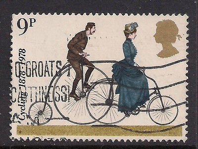 GB 1978 QE2 9p Cent. Of Cyclists  Used Stamp SG 1067.(M842 )