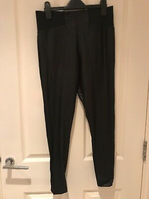 Asos Leather Look Leggings Size 12