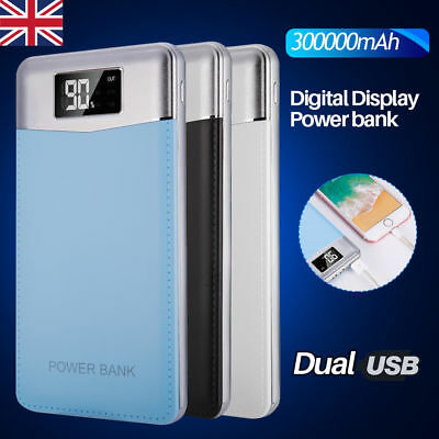 300000Mah Power Bank Usb Portable Led Battery Charger Pack For All Smart Phones