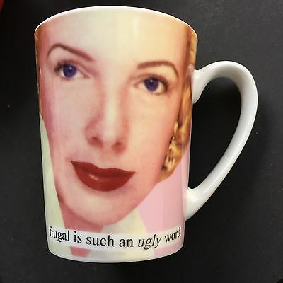 Love Shopping Stores Anne Traintor inc Mug Cup NEW Big Spender