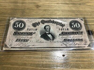 1864 Richmond $150 Confederate Note