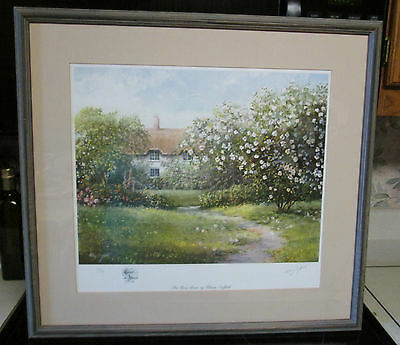 The Rose Briar Hilary Scoffield SIGNED & NUMBERED 103/850 VGC Framed Matted