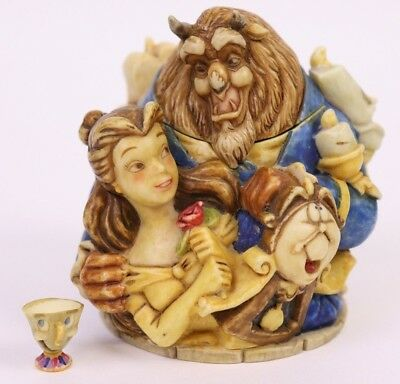 Harmony Kingdom Beauty and the Beast Disney Jubilee Belle Beast Friends Figurine