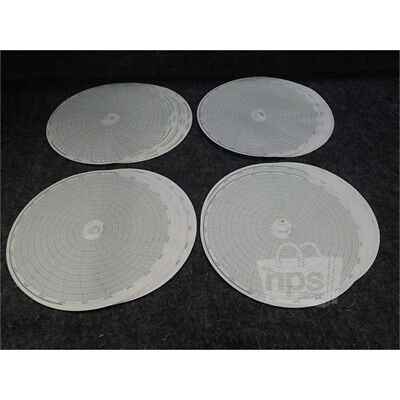 Lot of 100 Honeywell 30539533 Circular Charts for Honeywell Recorders, 10.313""