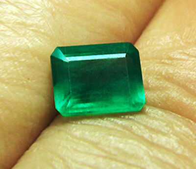 3.26 ct Natural Earth Mined Emerald Certified No Reserve