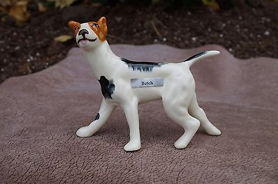 VTG Ceramic ROBERT SIMMONS Butch RAT TERRIER Dog Jack Russell