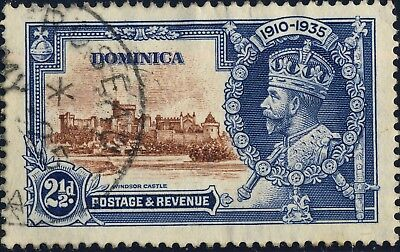 DOMINICA - 1935 - SG 94 2-1/2d KGV Silver Jubilee - Used