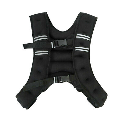 Lifespan Fitness 10KG Weighted Vest Weight Training Fitness Home/Gym Crossfit