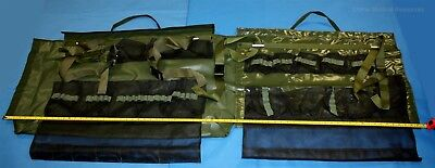 "Medical Instrument Case Dual Side 31 Pockets Military Issue Waterproof 68""x27"""