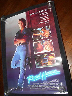 Road House  Patrick Swayze    Original Rolled One Sheet Poster