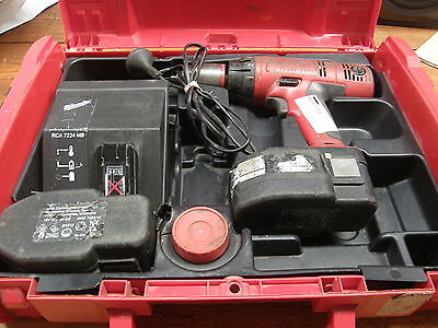 "18v Milwaukee 1/2"" Heavy Duty Hammer Drill Driver 18 volt"