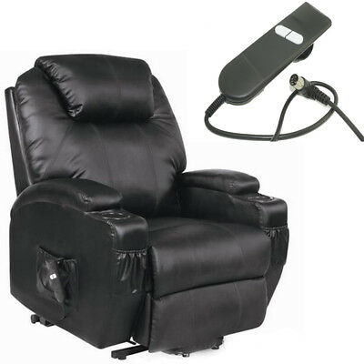 Remote Control power For Folding Wheelchair Mobility Chair Reclining ArmChair