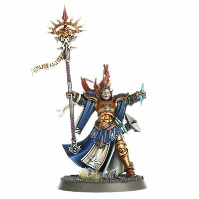 ML Warhammer Age of Sigmar Stormcast Eternals Female Knight Incantor on sprue