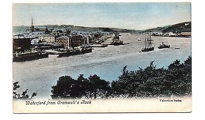 Old Postcard Waterford From Cromwells Rook Ireland