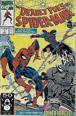 The Deadly Foes of Spider-Man No.1-4 / 1991 Danny Fingeroth & Al Milgrom
