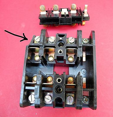 MTE Vintage Contact Block 01-17-0 MTE UCO Size 10 32 amp Rating
