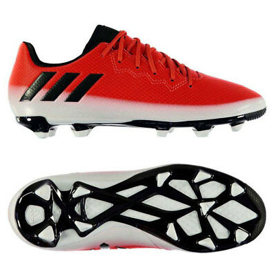 d7eb8cd63 adidas Junior Messi 16.3 FG Firm Ground Football Boots Red White Black rrp£