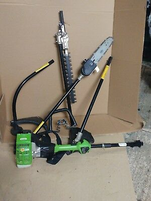 THE HANDY 26CC 4 IN 1 Multi-tool Strimmer pole saw hedge trimmer brushcutter
