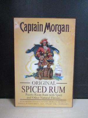 Captain Morgan Rum 3D Wood Sign Bar Man Cave Pirate Wall Decor