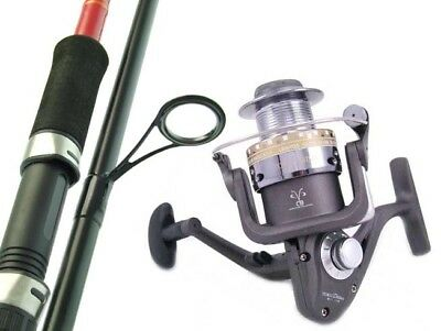 SARATOGA 6'6 3-5kg Spinning Fishing Rod and Reel Combo Flathead Bream Trout