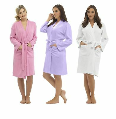 Daisy Dreamer Women's Waffle Robe, 100% Cotton Dressing Gown, Size 8-18