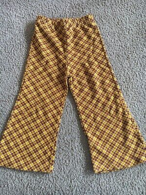 Vintage Carter's bell bottoms 3T Brown Gold