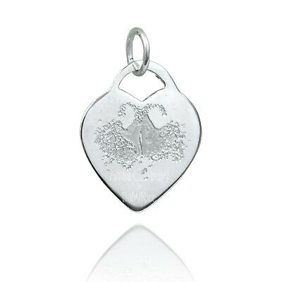 Personalised Silver Pendant Charm for Pet Lover | Gift for Cat and Dog Owners