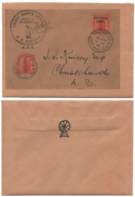 1911 British Antarctic Expedition, 'Loose Ship's Letter' - facsimile envelope