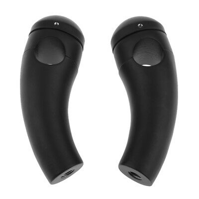 "Black Motorcycle Handlebar Risers for Universall 2.5cm/ 1"" Bar Diam"