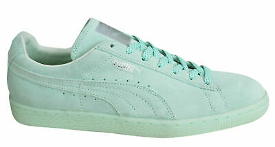 Puma Suede Classic Mono Ref Iced Mens Trainers Lace Up Shoes Mint 362101 02 U99