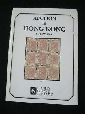 STANLEY GIBBONS AUCTION CATALOGUE 1984 AUCTION IN HONG KONG with 'DALMADA'