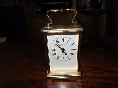 Elegant Smiths Quartz Carriage Clock