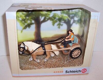 Schleich World of Nature Farm Life # 42040 Pony Carriage NIB