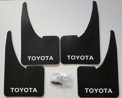 TOYOTA Mudflaps Full set of 4 + Free Delivery