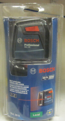 Bosch Professional GLL 30 S Self-Leveling Cross-Line Laser Level