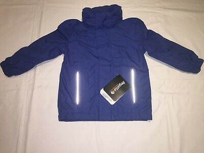 CLEARANCE REGATTA KIDS SQUAD WATERPROOF INSULATED JACKET. Royal 2 years x 10.
