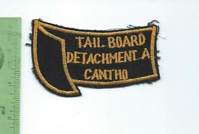 US Navy USN Tail Board Detachment A CANTHO  patch  Vietnam theater made