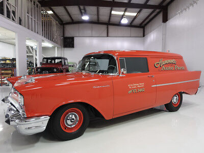 1957 Chevrolet Bel Air/150/210 Sedan Delivery 283ci 270 hp Dual Quad V8 1957 Chevrolet 150 Sedan Delivery, Frame-off restoration less than 500 miles ago
