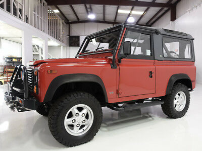 1995 Land Rover Defender 90 Convertible/Hardtop | Only 15,796 miles!