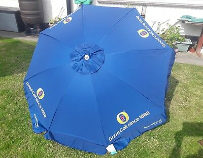 Fosters Lager Beer 1.8 Mtr Round Parasol,**brand New**
