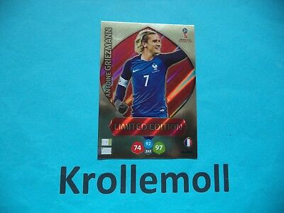Adrenalyn World Cup 2018 Russia Limited Antoine Griezmann Edition Limitiert WM