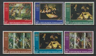 Togo - 1968, Anniiversary of WHO set - CTO - SG 596/601