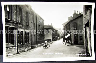 1930s Sedburgh - Evans House and Street -  Cumbria - Real Photo Postcard