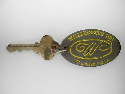 Vintage Williamsburg Inn Virginia hotel Room 150 Key and fob