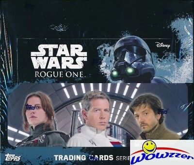 2016 Topps Star Wars Rogue One Series 1 HUGE Factory Sealed 24 Pack Retail Box !