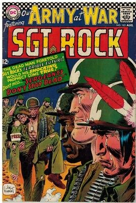 OUR ARMY AT WAR (1952-1977 DC) 183 G-VG Aug 1967