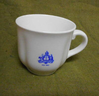 #Aa.   Religious Coat Of Arms Dudson Tea Cup