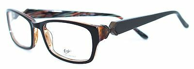 CANDIE'S CT BLOSSOM BRN 51/17 New BROWN Authentic WOMEN EYEGLASSES Frame