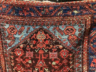 Auth: Mid 19th C Antique Kula Rare Anatolian Collectors Rug  5x6     No reserve