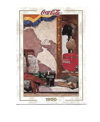 Coca Cola Collection (1993) 1950 # 57Hananiah Harari Art Economic Boom